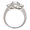 0.72 ct. Round Cut 3 Stone Ring, H, SI1 #4