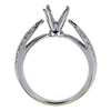 1.02 ct. Round Cut Solitaire Ring, F, SI1 #4