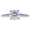 1.15 ct. Round Cut Solitaire Ring, E, VS2 #3