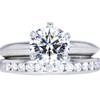 1.18 ct. Round Cut Bridal Set Tiffany & Co. Ring #3