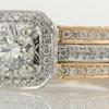 1.22 ct. Round Cut Bridal Set Ring #1