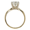 1.08 ct. Round Cut Solitaire Ring, K, I2 #4