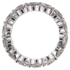 Round Cut Eternity Band Ring #2