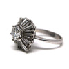 1.75 ct. Round Cut Central Cluster Ring #3