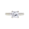1.47 ct. Princess Cut Solitaire Ring, G, SI2 #3
