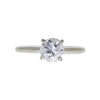 1.01 ct. Round Cut Solitaire Ring, G, I1 #3