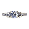 0.70 ct. Round Cut Solitaire Ring, F, SI2 #3