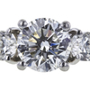 1.63 ct. Round Cut Bridal Set Ring, I, I1 #4