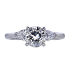 1.68 ct. Round Cut 3 Stone Ring, I, I1 #3