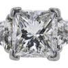 1.54 ct. Princess Cut Bridal Set Ring, H, SI1 #4