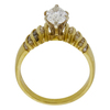 0.99 ct. Marquise Cut Solitaire Ring, F, VS2 #4