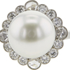 Round Cut Right Hand Tiffany & Co. Ring, White #1