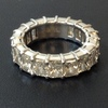 Radiant Cut Eternity Band Ring #1