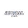 1.01 ct. Asscher Cut Solitaire Ring, H, VS1 #3