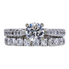0.72 ct. Round Cut Bridal Set Ring, I, SI2 #3
