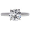 1.61 ct. Transitional Cut Solitaire Ring, I-J, I3 #1