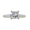 1.15 ct. Princess Cut Solitaire Ring, H-I, SI1 #2