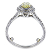 0.52 ct. Oval Cut Halo Tiffany & Co. Ring, Fancy, SI1 #3