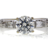 .86 ct. Round Cut Bridal Set Ring #2
