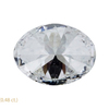 1.22 ct. Oval Cut 3 Stone Ring, H, I1 #4