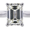 1.72 ct. Emerald Cut Solitaire Ring #2