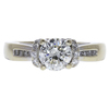1.0 ct. Round Cut Solitaire Ring, K, I1 #3