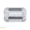 2.14 ct. Emerald Cut 3 Stone Ring, J, SI2 #4