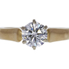 1.0 ct. Round Cut Solitaire Ring, H, VS2 #3