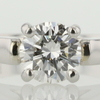 1.02 ct. Round Cut Solitaire Ring #1