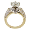 3.0 ct. Round Cut Solitaire Ring, L, I1 #4