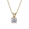 0.78 ct. Round Cut Pendant Necklace, H, SI2 #3
