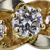 1.10 ct. Round Cut 3 Stone Ring, G, I1 #4