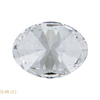 1.22 ct. Oval Cut 3 Stone Ring, H, I1 #2