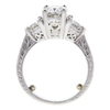 2.05 ct. Oval Cut Central Cluster Ring, I, SI2 #3
