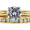 1.00 ct. Round Cut Bridal Set Ring, H, SI2 #2
