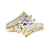 0.61 ct. Round Cut Solitaire Ring, E, VS2 #3