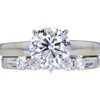 1.95 ct. Round Cut Bridal Set Ring, G-H, I1-I2 #3