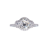 1.08 ct. Old European Cut Solitaire Ring, K, VS2 #2