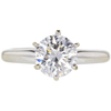 1.44 ct. Round Cut Solitaire Ring, D, SI1 #3