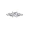 0.92 ct. Princess Cut Ring, I, VS1 #3