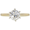 1.08 ct. Round Cut Solitaire Ring, K, I2 #3