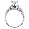 0.85 ct. Princess Cut Solitaire Ring, I-J, VVS1-VVS2 #3
