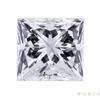0.72 ct. Princess Cut Solitaire Ring, D, SI1 #3