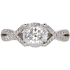 1.45 ct. Round Cut Solitaire Ring, E-F, I1 #1