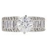 1.52 ct. Round Cut Solitaire Ring, H, I1 #3