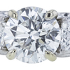 1.51 ct. Round Cut Bridal Set Ring, I, I1 #4