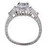 1.26 ct. Square Emerald Cut Solitaire Ring, E-F, VS1-VS2 #3