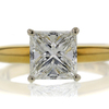 2.06 ct. Princess Cut Solitaire Ring #1