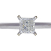 1.01 ct. Princess Cut Solitaire Ring, J, SI2 #3