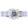 2.34 ct. Round Cut Solitaire Ring, G, VS2 #1